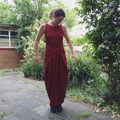 A #kielowrapdress in ribbed ponte - another @fabworksmillshop special. This is one of my favourite dresses - thanks for the great patterns @namedclothing! #mmmay16 #memademay #sewing #sewcialists