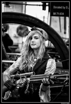 Thx to Jacha for sharing Steampunk Pirate, Steampunk Costume, Steampunk Fashion, Types Of Guys, Punk Outfits, Character Inspiration, Character Ideas, Bradford, Dieselpunk