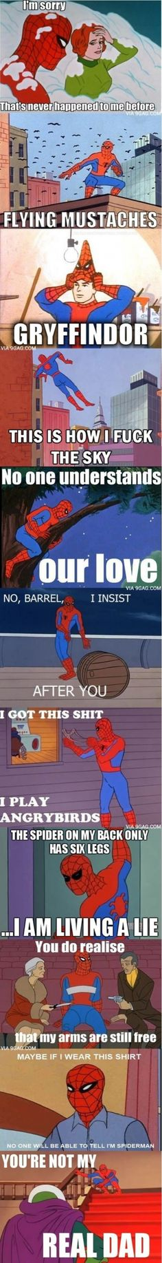 Oh Spiderman