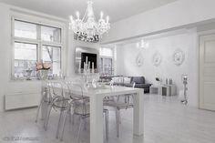 Coconut White: Inspiraatiota - valkoista ja läpinäkyvää!