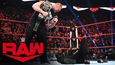 Brock Lesnar sends R-Truth to Suplex City: Raw, Jan. 13, 2020 - YouTube Wwe Main Event, Erick Rowan, Tessa Blanchard, Wwe Royal Rumble, R Truth, Wwe Champions, Brock Lesnar, Charlotte Flair