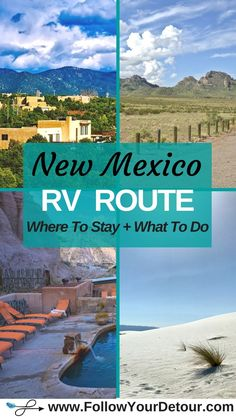 7ebadb3f500 New Mexico RV Route  Where to Stay and What to do