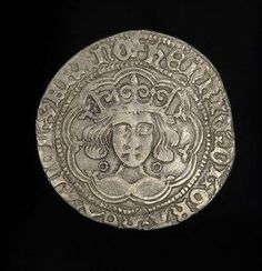 English King Henry VI Medieval Silver Groat Coin Calais Mint Ex Reigate Hoard Foreign Coins, Coin Art, Wars Of The Roses, Gold And Silver Coins, Medieval Life, Silver Bullion, King Henry, World Coins, Rare Coins