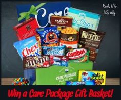 Gourmet Gift Baskets . com Care Package Giveaway!!