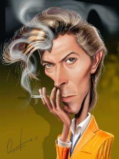 David Bowie Born: January Brixton, London, United Kingdom Died: January Manhattan, New York City, NY Funny Caricatures, Celebrity Caricatures, Celebrity Drawings, Cartoon Faces, Funny Faces, Cartoon Art, Caricature Artist, Caricature Drawing, Drawing Art