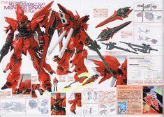 [close] MSN-06S Sinanju Ver.Ka Titanium Finish (MG) (Gundam Model Kits) About item4