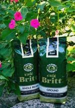Britt Coffee Costa Rica - Dark Roast - Selected highland beans are roasted dark so that the rich oils rise to the surface of the beans. Britt's Dark Roast has a rich and deep mellow flavor with exceptional body. Café Britt carefully selects only the choicest ripe SHB (Strictly Hard Bean) coffee cherries to produce a consistently rich, satisfying brew with the distinctive taste of Costa Rica's best.