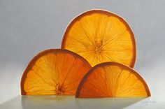 Better Half by Mickie Acierno. Still Life. Oranges. www.mickie.ca Small Paintings, Large Painting, Still Life Artists, Better Half, Oil, Fine Art, Contemporary, Drawing, Artwork