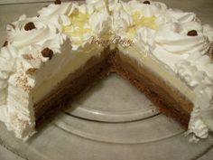 Torte Recepti, Kolaci I Torte, Torte Cake, Special Recipes, Vanilla Cake, Cheesecake, Cooking, Sweet, Desserts