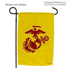 Garden Flag: EGA in Color Choices