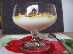 Griekseyoghurt, walnoten en honing
