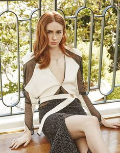 Karen Gillan, Karen Sheila Gillan, Rory Williams, Amy Pond, Belleza Natural, Beautiful Actresses, Hot Actresses, Hollywood Actresses, Doctor Who
