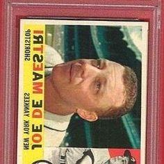 "Joseph Paul ""Joe"" DeMaestri (December 9, 1928-) played 11 seasons in the. $5 $12 $12 $70 $70 $550 $550 Joe DeMaestri EX 5 EX-MT 6 NM 7 NM-MT 8 MT. 1960 Topps Baseball  358 Joe DeMaestri (Yankees) Graded 7.5 NM by PSA.   sports-collectible.bid!. SHIPPING RATES: $3.95 shipping 1st card, $.50 for each additional item. #BaseballCards #baseballcard #Baseball #Cards #Sports #Deals #Collectibles #gifts"