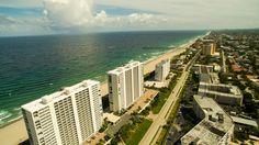 Aerial Photography of Deerfield Beach in 4k    DJI Phantom 3 Professional