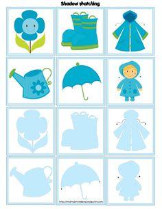 Weather Activities Preschool, Montessori Activities, Preschool Worksheets, Craft Activities For Kids, Book Activities, Preschool Activities, Visual Perception Activities, Cognitive Activities, Weather Crafts