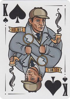 Sherlock Holmes Playing Cards - $20
