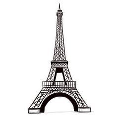 Want to learn how to draw an Eiffel Tower (front view)? Step 6