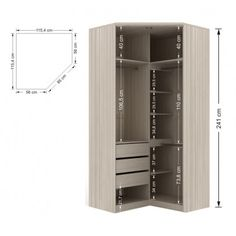 closet em l medidas ile ilgili görsel sonucu Corner Wardrobe Closet, Wardrobe Design Bedroom, Bedroom Bed Design, Wardrobe Cabinets, Bedroom Wardrobe, Built In Wardrobe, Small Room Bedroom, Plafond Design, Closet Layout