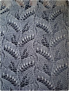 Hand knitted natural white wedding shawl, traditional Estonian lace, Haapsalu shawl soft cobweb merino. $141,00, via Etsy.