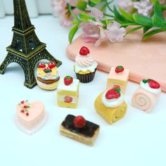 Cheap cabochon resin, Buy Quality cabochons black directly from China cabochon cute Suppliers: Cute Strawberry Cake Black Forest,Resin Cabochons for Phone Decoration,japanese sweets , DIY figurines miniatures