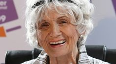 Canadian Author, Alice Munro. Awarded the 2013 Nobel Prize in Literature, lauding her master of the contemporary short story and  one of the most important short-story writers in the English speaking world..""