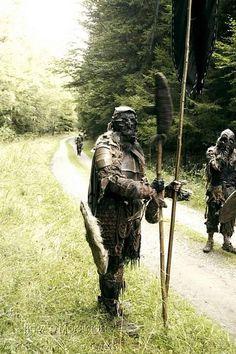 LARP costumeOrc warband on the move - LARP costume
