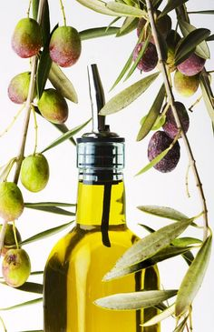 """The """"good fats"""" in olive oil are highly beneficial; they contain heart-healthy omega-3s, which improve circulation, leaving #skin rosy and #supple."""