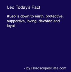 Leo Daily Fact