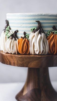 Fall Treats, Holiday Treats, Halloween Treats, Pretty Cakes, Beautiful Cakes, Amazing Cakes, Fall Recipes, Holiday Recipes, Fall Cakes