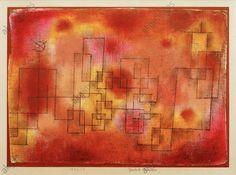 Geplante Bauten Paul Klee 1914