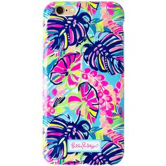 Lilly Pulitzer iPhone 6/6S Cover - Exotic Garden (44 CAD) ❤ liked on Polyvore featuring accessories, tech accessories, phone cases, multi exotic garden tech, iphone cases, iphone cover case, apple iphone cases, lilly pulitzer iphone case and lilly pulitzer