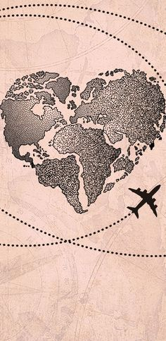 Wallpaper Coração Mapa Mundi by Gocase trip viagem aeroporto avião linhas trajetos wanderlust worldwide wanderlust mapa mundi mapa viajar wallpaper papel de parede lovegocase gocase background Iphone Wallpaper Travel, Iphone Wallpaper Herbst, Samsung Galaxy Wallpaper, Map Wallpaper, Locked Wallpaper, Tumblr Wallpaper, Aesthetic Iphone Wallpaper, Cellphone Wallpaper, Aesthetic Wallpapers