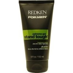 REDKEN by Redken MENS STAND TOUGH EXTREME HOLD GEL 5 OZ  Package Of 2  by Vetrarian -- More info could be found at the image url.Note:It is affiliate link to Amazon.