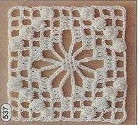 Crochet Motif Patterns, Granny Square Crochet Pattern, Crochet Blocks, Crochet Diagram, Crochet Round, Crochet Squares, Crochet Granny, Filet Crochet, Crochet Designs