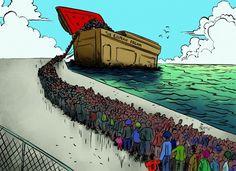 """Auf Biegen und Brechen soll das heikle Thema """"Flüchtlingskrise"""", hinter dessen beschönigendem Begriff millionenfache illegale und unkontrollierte Einwanderung steht, aus der Öffentlichkeit verschwi…"""