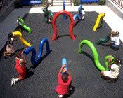 Speaking tubes that connect underground and are colour-coded; speak or sing into one end and you can be heard at the other end of the tube. At a school playground in Brooklyn, 1996. Originally Pinned by Alec Duncan of http://childsplaymusic.com.au/