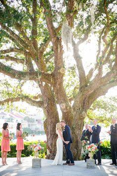 Navy Coral Coastal Hilton Head Wedding 0063 by charleston wedding photographer dana cubbage