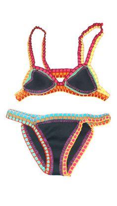 Abejas Boutique - Abejas Collection Neoprene Swim Suit