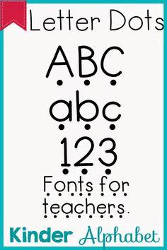 Kinder Alphabet: Phonics Fonts for Teachers Update Teacher Fonts, Teacher Resources, School Classroom, School Fun, School Stuff, Classroom Ideas, Kindergarten Font, Kindergarten Reading, Cvc Words