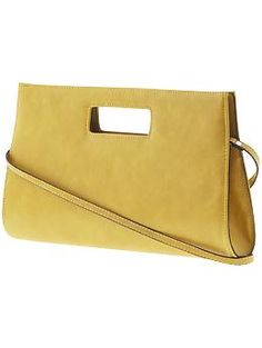 i got this for my birthday! it's really really cute- and i like that you can take off the strap and have a hand bag.