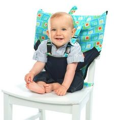 Fabric Travel High Chair for Baby (Sitting-Up Support)   Kindred Spirit Mommy