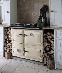 Rayburn wood burning stove
