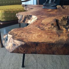 Fab.com | Industrial Mod Slab Wood Tables