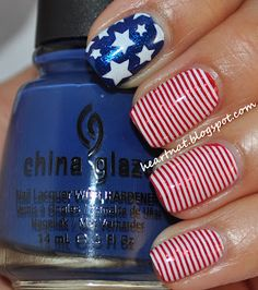 memorial day nails diy