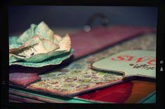 Taller scrapbook presencial en Castellon I LOVE YOU #scrapbook #castellon #minialbum #taller @Sanae Hori de Papel