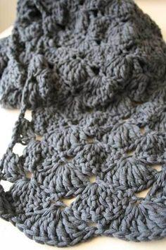 Sjaal tutorial | Hutsefluts Een super leuke sjaal, die niet moeilijk is om te maken.