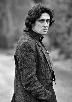 From Stargazing In Dublin Gabriel Byrne in St. Stephen's Green Photographed by Eric Luke-crop