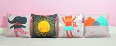 square pillows by PinkNounou