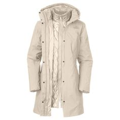 what do I wear in 40 degree weather? The North Face Women's B Triclimate Jacket -- waaant!!