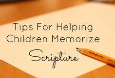 Planting Seeds of Honesty Through Scripture Memorization